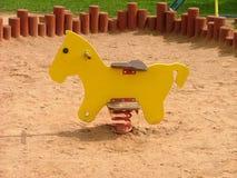 лошадь деревянная стоковые изображения rf