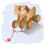 лошадь деревянная Стоковые Фотографии RF