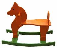 лошадь детей деревянная Стоковое фото RF