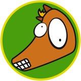 лошадь животной фермы Стоковые Изображения RF