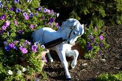 лошадь сада стоковое изображение rf