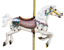 лошадь carousel стоковые изображения rf
