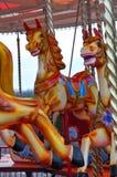 лошадь carousel Стоковое Изображение
