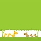 лошадь giraffe Стоковая Фотография