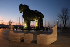 Лошадь Troia стоковые фото