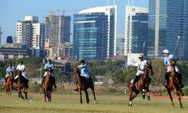 Лошадиные скачки в Мумбае Стоковое Фото