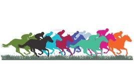 Лошадиные скачки племенника Стоковая Фотография RF