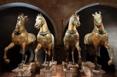 Лошади меток Святого, Венеции Стоковая Фотография