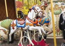 Лошади Carousel Стоковое Изображение