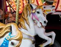 Лошади Carousel Стоковое фото RF