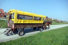 Лошад-нарисованное багги Стоковое Изображение RF