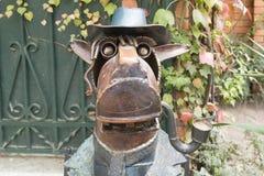Лошадь в пальто Стоковые Фотографии RF