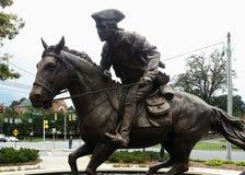 Лошадь, город, городок, cabalgando стоковая фотография