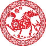 Лошадь года Стоковая Фотография RF