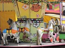 Лошадь, конструкция игры детей Стоковое Фото