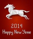 Лошадь Нового Года Стоковое Фото