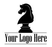 Лошадь логотипа дизайна Стоковое Фото