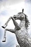 Лошадь робота железная Стоковое Изображение
