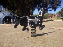 Лошадь спортивной площадки Стоковые Фото