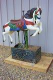 Лошадь цирка Bozo стоковое изображение rf