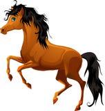 Лошадь шаржа Стоковые Изображения