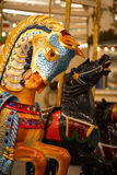 Лошадь Carousel острова кролика стоковое изображение