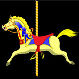 лошадь carousel Стоковое Изображение RF