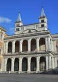 Лоджия благословления базилики St. John Lateran стоковая фотография rf