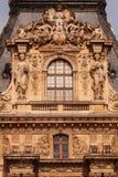 Лувр, Париж, Франция, 25.09.2013 Стоковое Изображение