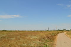 Луга зоны Kherson, Украины Стоковые Фото