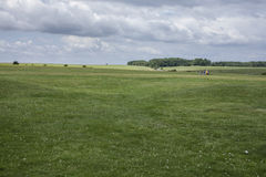 Луга - равнина Солсбери стоковое изображение