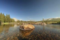 Луг Yosemite Стоковое Фото