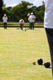 лужайка игры шаров Стоковые Фотографии RF