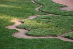 лужайка искусства стоковое изображение