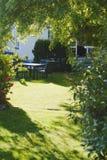 лужайка сада Стоковое Изображение RF
