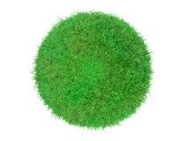 лужайка травы шарика 3d Стоковое Изображение RF