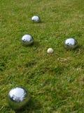 лужайка boules Стоковое Фото