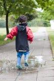 лужица ребенка Стоковая Фотография RF