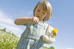 лужок ребенка стоковое изображение rf