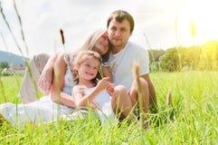 лужок семьи Стоковая Фотография RF