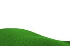 лужок травы холмистый Стоковое Изображение