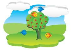 лужок шаржа 3d Бесплатная Иллюстрация