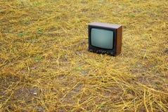лужок tv Стоковое фото RF