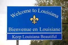 Луизиана, котор нужно приветствовать стоковая фотография