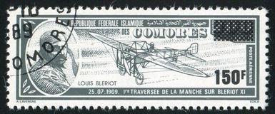 Луис Bleriot стоковое изображение rf