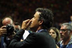 Луис Enrique FC Barcelone Стоковое Изображение RF