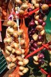 Луки смертной казни через повешение на рынке сбора Стоковое Фото