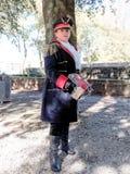 ЛУККА, ИТАЛИЯ - 11-ое ноября: маскирует персонажи из мультфильма на Лукке Стоковое Фото