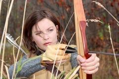 Лук и стрелы Стоковые Фотографии RF