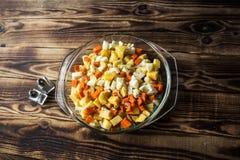 Лук моркови сырцовой картошки Стоковое Изображение